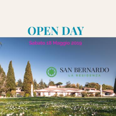 Sabato 18 Maggio Open Day