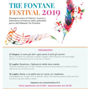 Estate 2019: Tre Fontane festival